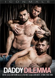 Daddy Dilemma gay porn DVD from Icon Male