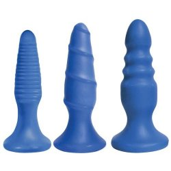 Curve Novelties Simply Sweet Anal Fun Trio - Bangin Blue