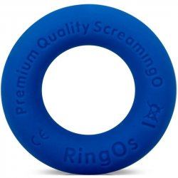 Screaming O - Ring O Ritz Silicone Ring - Blue Sex Toy