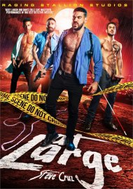 At Large gay porn DVD from Raging Stallion Studios