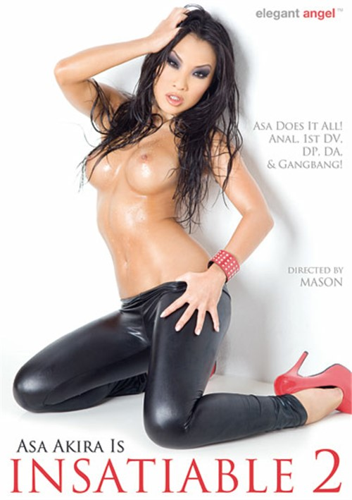 Asa Akira Is Insatiable Vol. 2 Boxcover
