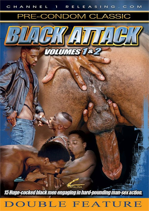 Black Attack Vols. 1 & 2 Boxcover