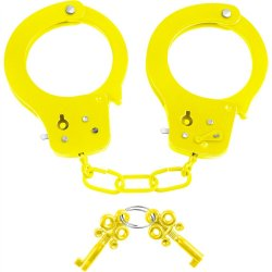 Neon Fun Cuffs - Yellow