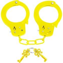 Neon Fun Cuffs - Yellow Sex Toy