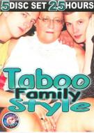 Taboo Family Style 5-Disc Set Porn Movie