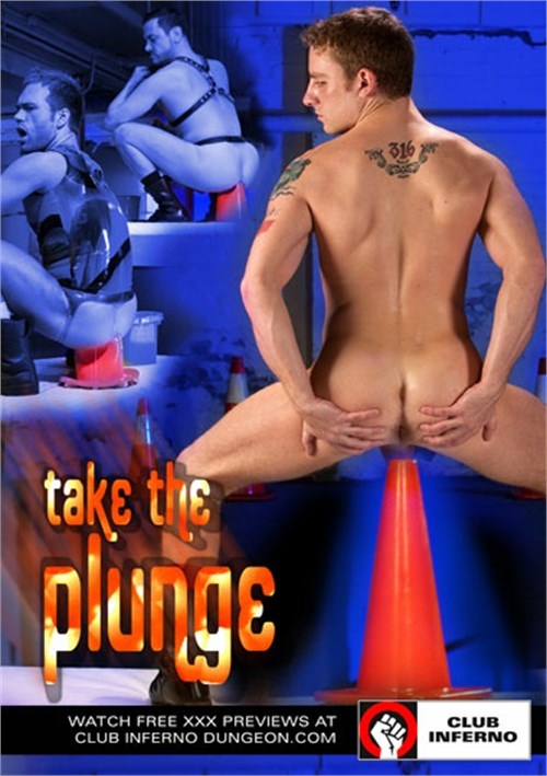 Gay Take The Plunge Cone Porn