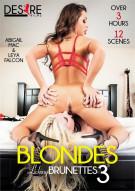 Blondes Licking Brunettes 3 Porn Video