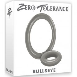 Zero Tolerance Bullseye Cockring - Smoke Sex Toy