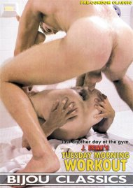 Tuesday Morning Workout gay porn DVD from Bijou Classics