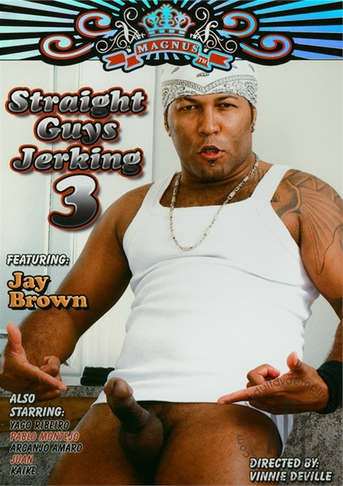 Straight Guys Jerking 3 Boxcover