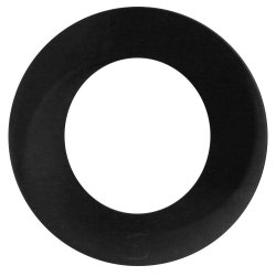Shots Toys: Endlesss Cockring - Big - Black