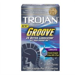 Trojan Groove - 10 Pack Sex Toy