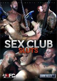 Sex Club Sluts gay porn DVD shot in HD.