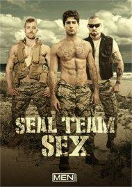 Seal Team Sex gay porn DVD from Men.com