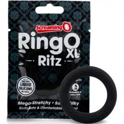 Screaming O - Ring O Ritz X-Large Silicone Ring - Black Sex Toy