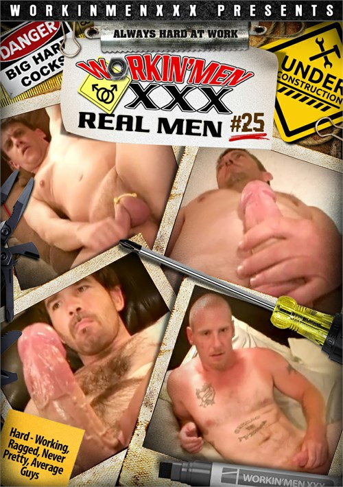 Real Men 25 Boxcover