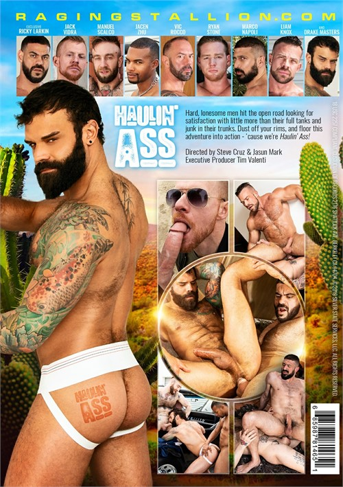 Haulin Ass Cover Back