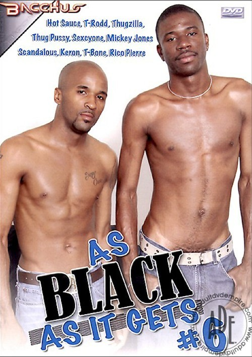 As Black As It Gets #6 Boxcover
