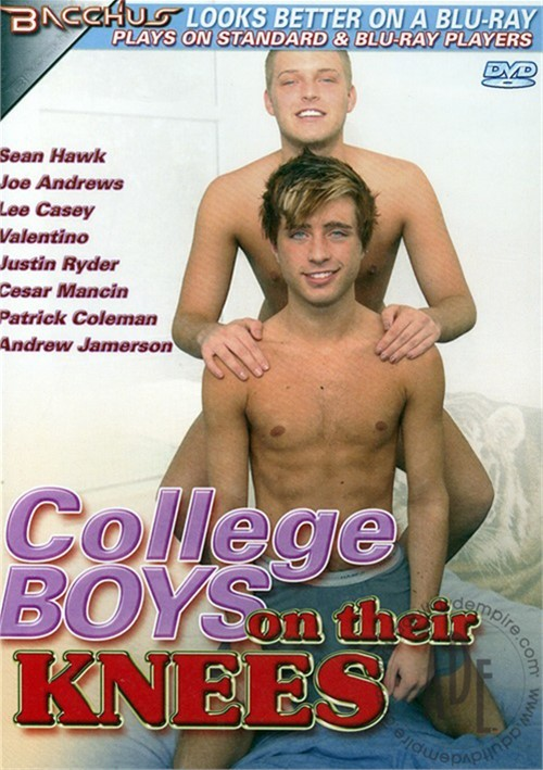 College Boys On Their Knees Boxcover