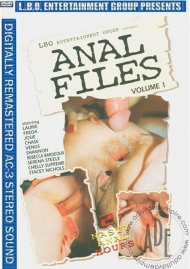 Anal Files Volume 1