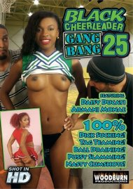 Black Cheerleader Gang Bang 25 image
