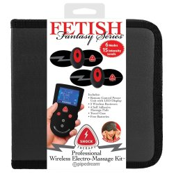 Fetish Fantasy Series Shock Therapy Electro Massage Kit Sex Toy
