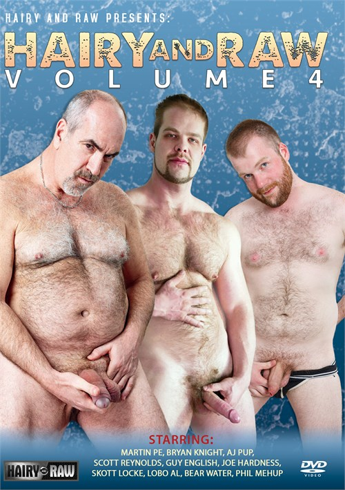Hairy and Raw Vol. 4 Boxcover