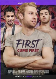 First Cums First gay porn DVD from Next Door Studios