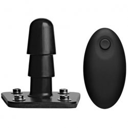 Vac-U-Lock - Vibrating Plug with Wireless Remote Sex Toy