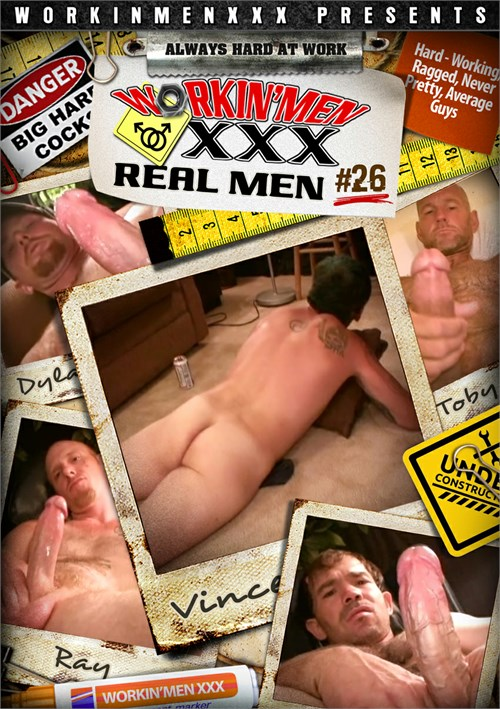 Real Men 26 Boxcover