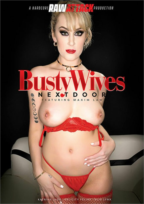 Busty Wives Next Door Boxcover