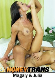 Bubble Butt Latina Takes Thick Transsexual Cock In Her Pussy image