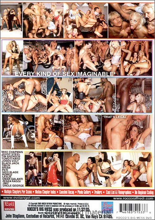 rocco siffredi big mess