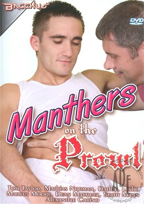 Manthers On The Prowl Boxcover