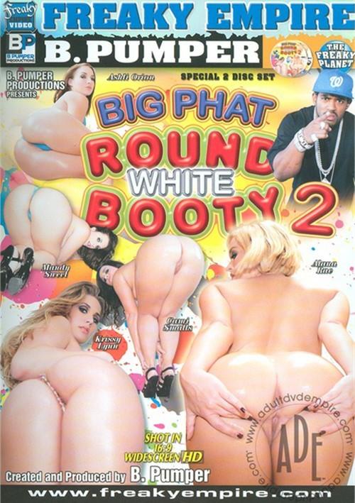 Big Phat Round White Booty 2 2010 Dvd Empire DVD-1150