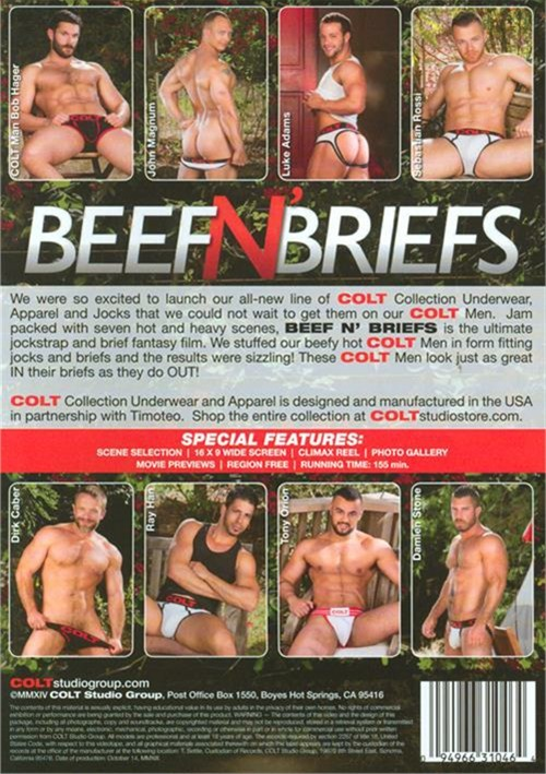 Beef n Briefs Cover Back