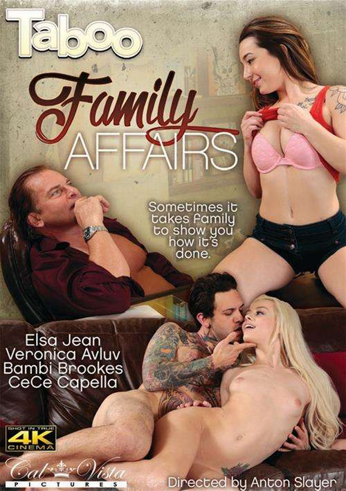 Family Affairs 2016  Adult Dvd Empire-1398