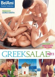 Greek Salad Part 3 gay porn DVD from Bel Ami.