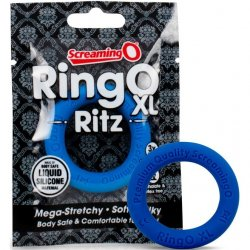 Screaming O - Ring O Ritz X-Large Silicone Ring - Blue Sex Toy