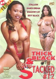 Thick Black & Stacked #12