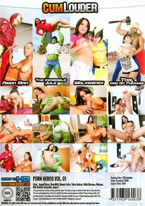 Porn Heros Vol. 1 CumLouder Parody Movie