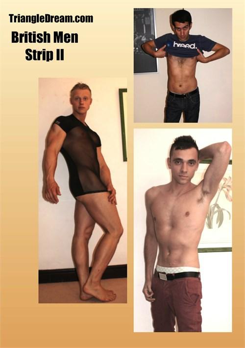 British Men Strip II Boxcover