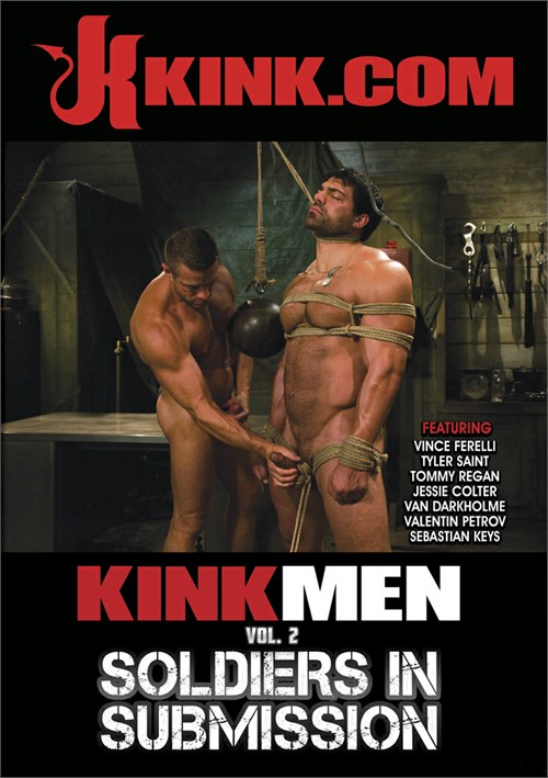 KinkMen Vol. 2: Soldiers in Submission Boxcover
