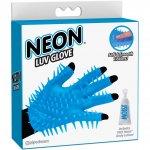 Neon Luv Glove - Blue Sex Toy
