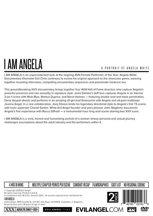 I Am Angela Boxcover