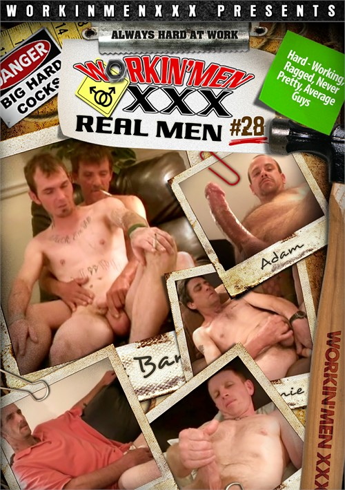 Real Men 28 Boxcover