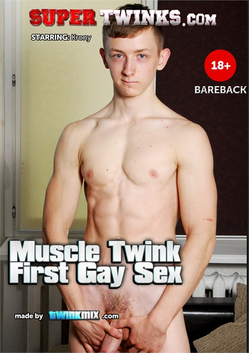 Muscle Twink First Gay Sex Boxcover
