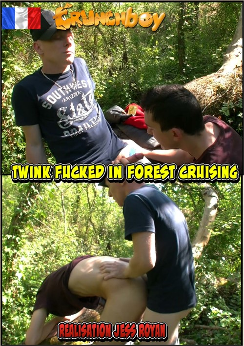 Twink Fucked in Forest Cruising Boxcover