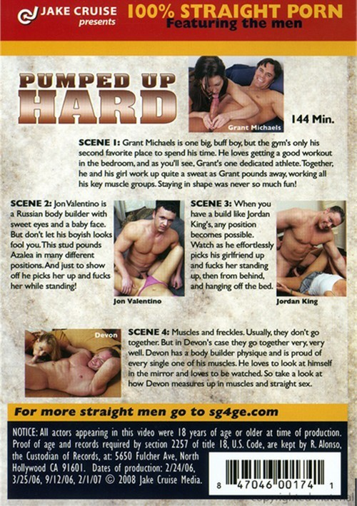 Worked out and pumped hard scene 3