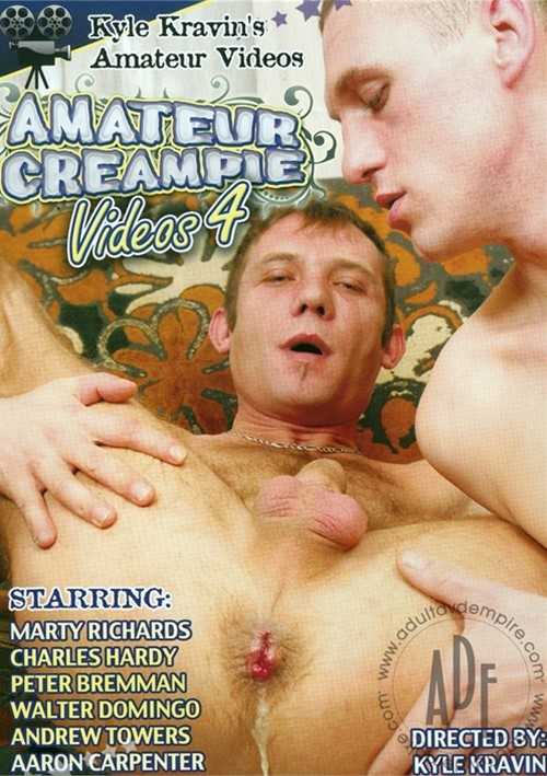 Kyle Kravin's Amateur Gay Creampies Videos 4 Boxcover
